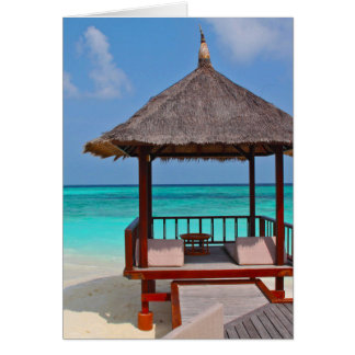 Beautiful Maldives Islands Card
