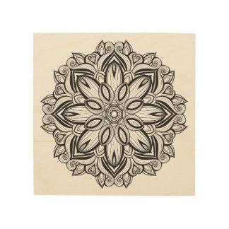 Beautiful Mandala 5 Wood Print