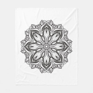 Beautiful Mandala Fleece Blanket