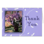 Beautiful Mary Cassat Lilacs Thank You Cards
