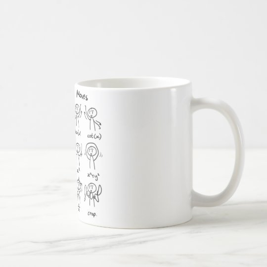 Beautiful Math Dance Moves mug
