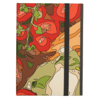 Beautiful Medley of Organic Fruits and Vegetables iPad Air Case