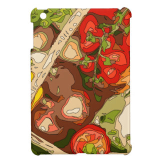 Beautiful Medley of Organic Fruits and Vegetables Case For The iPad Mini
