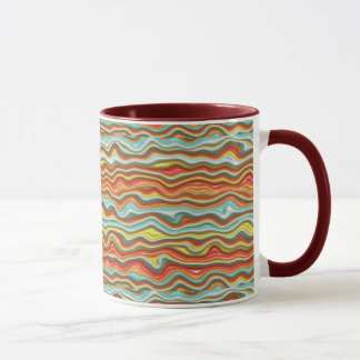 Beautiful  Melting Colors Abstract Coffee Mug