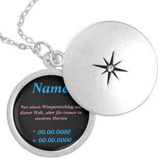 Beautiful memory chain locket necklace