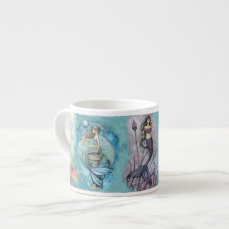 Beautiful Mermaid Espresso Cup