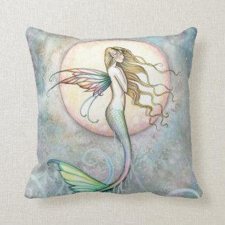 Beautiful Mermaid Throw Pillow