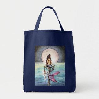 Beautiful Mermaid Tote Bag by Molly Harrison