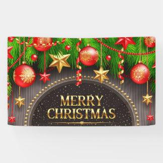 Beautiful Merry Christmas Banner