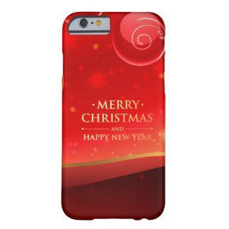 Beautiful Merry Christmas Barely There iPhone 6 Case