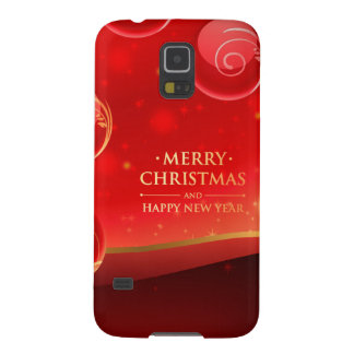 Beautiful Merry Christmas Galaxy S5 Cases