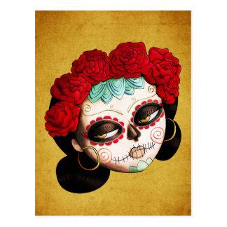 Beautiful Mexican Catrina Postcard