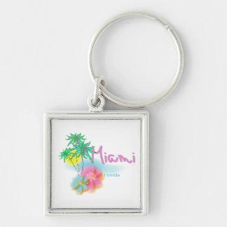 Beautiful Miami Florida Key Ring