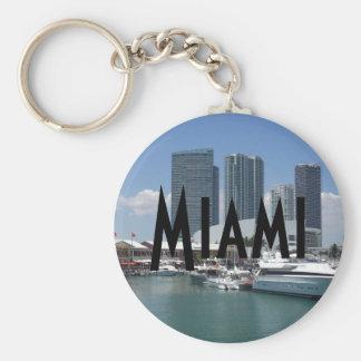 Beautiful Miami Key Ring
