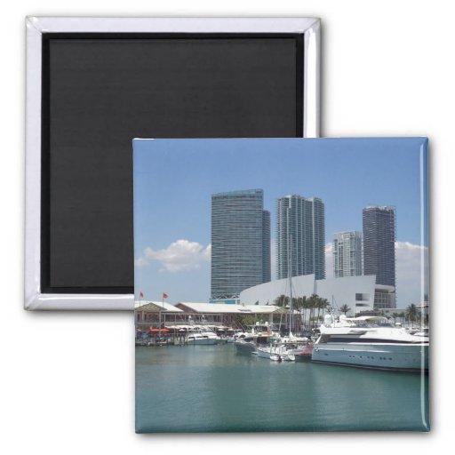 Beautiful Miami Refrigerator Magnet