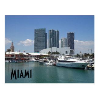 Beautiful Miami Postcard