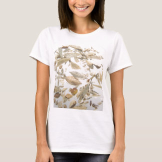 Beautiful microfossils photo pattern T-Shirt