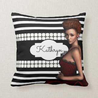 Beautiful Modern Ballerina Cushion