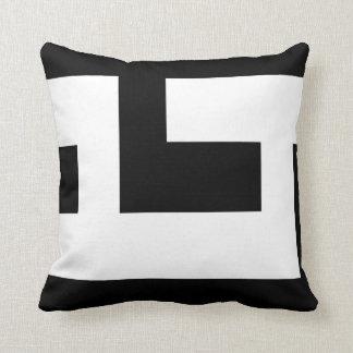 Beautiful Modern Black and White 2 Throw Cushions