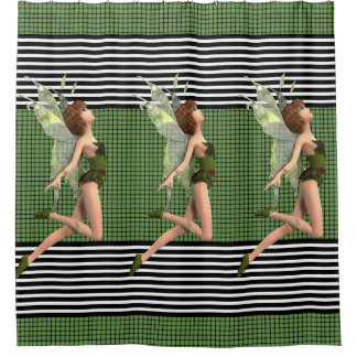 Beautiful & Modern Fairy Shower Curtain