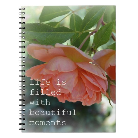 Beautiful Moments Roses Journal Notebook
