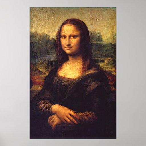 Beautiful Mona Lisa Posters