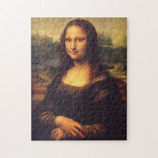 Beautiful Mona Lisa Puzzle