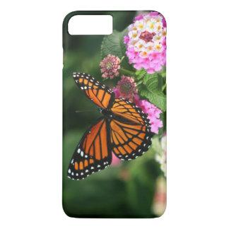 Beautiful Monarch Butterfly on Lantana Flower iPhone 8 Plus/7 Plus Case