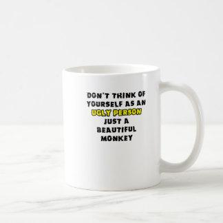Beautiful Monkey Funny Mug Humor