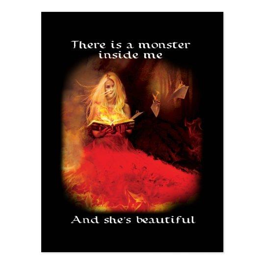 Beautiful Monster Postcard