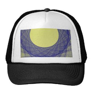 beautiful moon light shine blue color cap