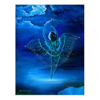 Beautiful Moondance Fairy Postcard