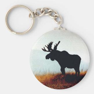 Beautiful Moose Key Ring