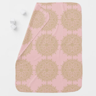 Beautiful Moraccan Baby Blanket in Soft Pink