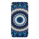 Beautiful Moroccan influence tile design in shades iPhone 5 Covers
