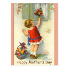 Beautiful Mother's Day Postcard w/ Vintage Image