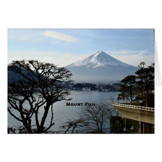 Beautiful Mount Fuji Note Card