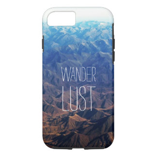 Beautiful mountain range with beautiful Typography iPhone 8/7 Case
