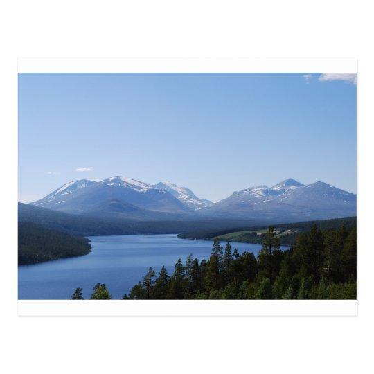 BEAUTIFUL MOUNTAINS POSTCARD