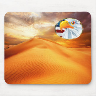 Beautiful Mousepad with nature motive and Eagle
