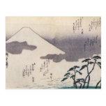 Beautiful Mt. Fuji in Japan circa 1800s Postcards