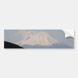 Beautiful Mt. Fuji in Modern Day Japan Bumper Sticker