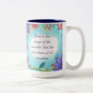 Beautiful Mug with Scripture of Jesus