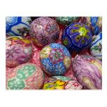Beautiful multicolored wax Ukranian Eggs
