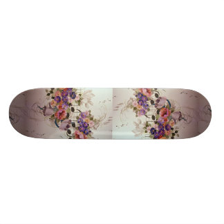Beautiful Music field Custom Skateboard