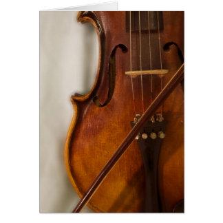 Beautiful Music--Violin Greeting Cards