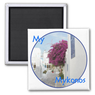 Beautiful Mykonos Magnet