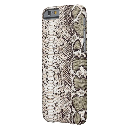 Beautiful Natural Snake Skin Print Barely There iPhone