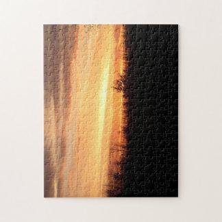 Beautiful Nebraska Sunset Jigsaw Puzzle