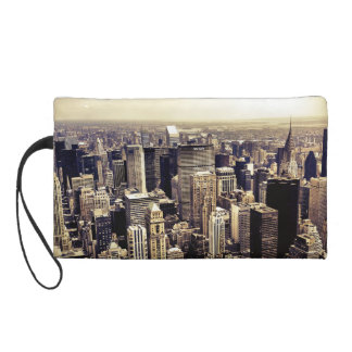 Beautiful New York City Skyscrapers Skyline Wristlet